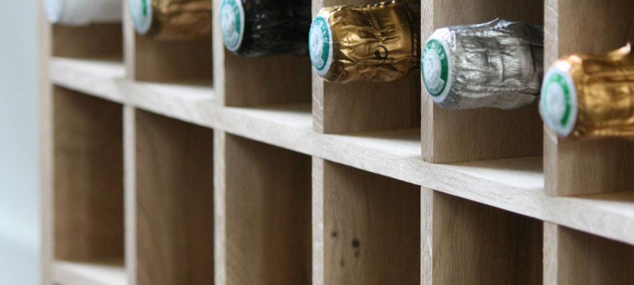 Uitzonderlijk Wijnkelders, wijnrekken en inbouw - Wijnklimaatkasten #AV77